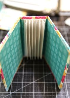 Mini album binding and cover + tutorial