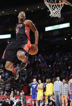 Terrence Ross Toronto Raptors NBA Slam Dunk Contest