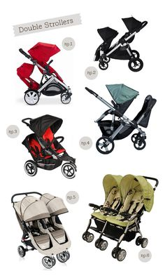 Double Strollers ~ reviews/comments