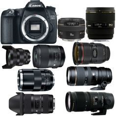Canon EOS 70D is an APS-C sensor DSLR camera released in 2013. 70D is the successor of Canon EOS 60D. For lowest price, you can buy Canon EOS 70D here. Tod