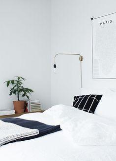 Nordic apartment styled by Susanna Vento. Products from Ferm Living, Normann Copenhagen, Menu, Elkeland, Ikea, Varpunen, Himmee. /