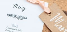 Free DIY wedding stationary-templates by Pretty Paper, Sweden.