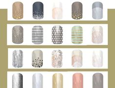 Jamberry has so many styles to suit your conservative workplace. Order online at: kimd.jamberrynails.net