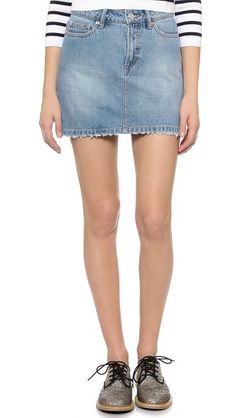 Marc by Marc Jacobs Icon Miniskirt