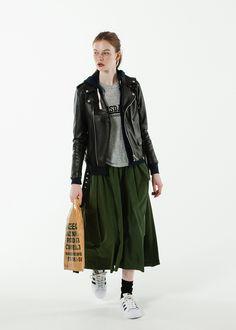 FUDGE「ロンドンガール流、ロックアイテムの着こなし術をピックアップ!」 - ZOZOTOWN