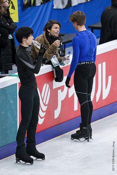 Deniss VASILJEVS, Yuzuru HANYU   Men's Open Practice Session…   Flickr
