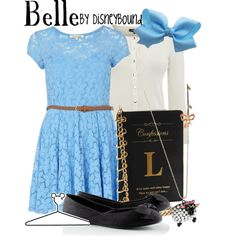 Belle, created by lalakay on Polyvore disney