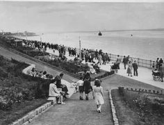 Otterspool opening 1950s