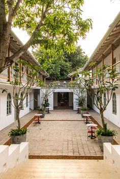 A former 17th century trading house, The Fort Bazaar has been reborn as one of #Galle Fort's newest and coolest boutique hotels. #Indistay | Sri Lanka
