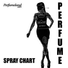 Ladies guide to where to spray perfume? Kinda handy to have!!