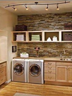 Interior Design. Do you like this laundry?