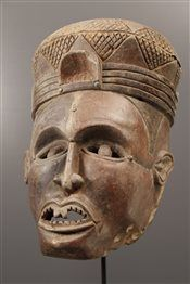 Mask helmet Kongo - African Art