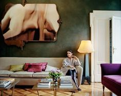 How the Fashion Set Lives: Go Inside the Homes of Marc Jacobs, Claire Waight Keller, and More Photos | W Magazine
