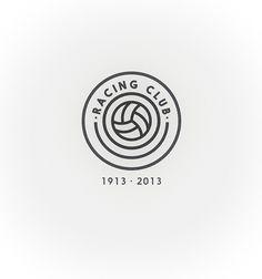 Racing Club de Santander on Branding Served