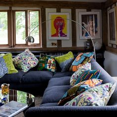 9-interesting-ideas-for-living-rooms-Cosy-country-modern-modular-sofa | Home Interior Design, Kitchen and Bathroom Designs, Architecture and Decorating Ideas