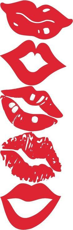 Lip Photo Props - The TomKat Studio- buena idea para sellos Silhouette Cameo Projects, Silhouette Design, Silhouette Images, Stencils, Lips Photo, Silhouette Portrait, Photo Booth Props, Vinyl Projects, Vinyl Designs