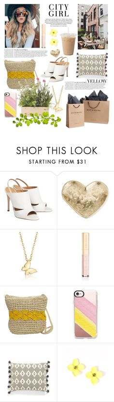 """""""City Girl"""" by linmari ❤ liked on Polyvore featuring Anja, Kelly Wearstler, Ross-Simons, Dolce&Gabbana, Magid, Casetify and Levtex"""
