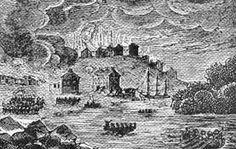 The burning of Buffalo during the #Warof1812