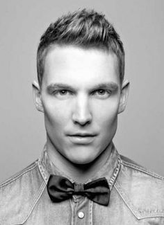 The Modern and Fashionable Spike up Short Mens Hairstyles 2014 with a bit of Spike up on the Front