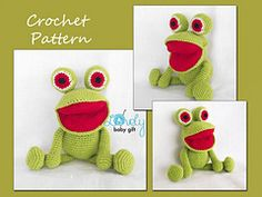 Ravelry: Frog Amigurumi, Free Crochet Pattern pattern by LovelyBabyGift