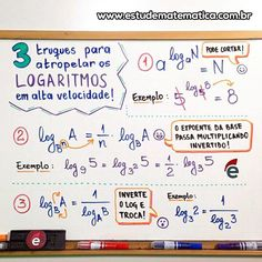 Resumo de Matemática : Logaritmo