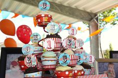 PDF Circus/Carnival Birthday Party Complete by SnickerplumLLC, $34.99