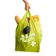 Green Aid Shopping Bag, $14, now featured on Fab.