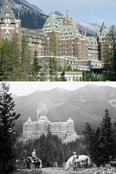 Fairmont Banff Springs Hotel, Alberta, Canada -haunted by Sam the bellman, who retired in 1967 and said he'd be back - has been sighted carrying bags and guests report he has helped them find their rooms - a ghostly bride has been seen by many employees & guests; she perished falling to her death on a staircase during her wedding and has never left