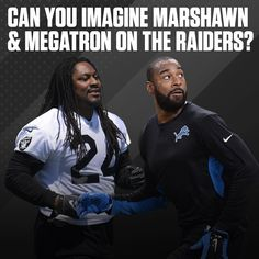 Calvin Johnson has been working with the Raiders in an advisory role. What if... 🤔
