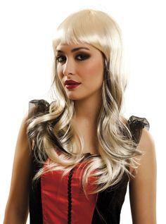 Perruque blonde vampiresse femme