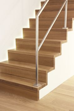 """Résultat de recherche d'images pour """"rampe escalier moderne bois"""""""