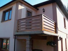 Balustrada balkonowa drewniana