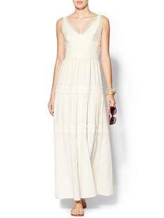 Roseli Lace Trim Maxi Dress Product Image