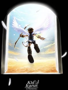 View an image titled 'Promotional Art' in our Kid Icarus: Uprising art gallery featuring official character designs, concept art, and promo pictures. Kid Icarus Uprising, Chibi, Otaku, Pokemon, Nintendo 3ds, Super Smash Bros, Anime, Game Character, Game Art