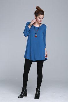 1f1b3123fb3dd4 larace long sleeve flowy dress Long Sleeve Flowy Dresses