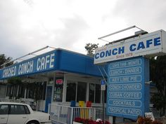 Cracked Conch Cafe, Marathon, Florida