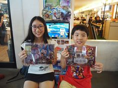 #AnimalKaiser Congratulations to the winners of 1 PM Animal Kaiser Tournament at The Grandstand today 26 August 2017.   1st : Oliver (right) 2nd : Chloe (left)  Dare to dream! Dare to try!  #SAKM #GCATournament #AKTournament #AnimalKaiser #TheGrandstand