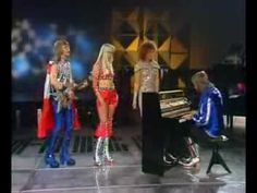 """ABBA on German TV. Programme """"Starparade"""" Broadscast in May Honey, Honey, song composed by Benny Andersson, Björn Ulvaeus & Stig Anderson † Recorded Abba Videos, Music Videos, Beautiful Songs, Love Songs, Best Old Songs, Classic Songs, Shows, My Favorite Music, Music Publishing"""