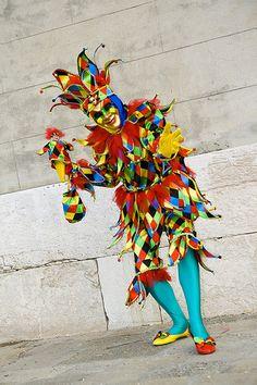 Arlequín - Carnaval, Venecia