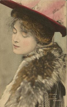 Portrait of Evelyn Nesbit, 1900s