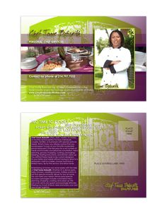 """Flyer Design (6"""" x 4"""" Mailer) for Creative Events of Dallas, designed by Moksha Media of Dallas - Daymond E. Lavine"""