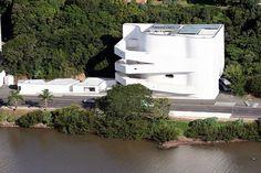 Fundação Iberê Camargo  Foto: Ivo Gonçalves/PMPA  Homenagem da Foxter Cia. Imobiliaria   http://www.foxterciaimobiliaria.com.br