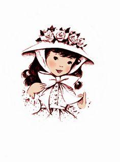 Little Miss Bonnet Girl