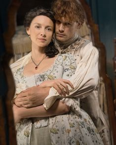"""The first glimpse of """"Outlander"""" Season 4 promises lots of drama, angry people with torches, beautiful costumes, and shirtless Jamie. Outlander Season 4, Outlander Quotes, Outlander Tv Series, Outlander Book, Claire Fraser, Jamie And Claire, Jamie Fraser, Drums Of Autumn, Samheughan"""