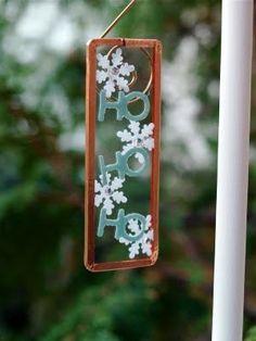 microscope slide ornament