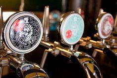 Beer label, étiquette de bière