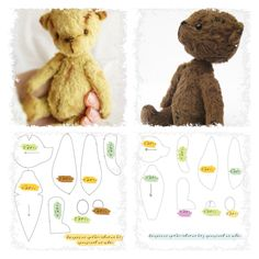 more CUTE bears.....and with freebie patterns!...yaye!!....