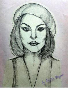 "My sketch for Gambar model 1 ""Front face look"""