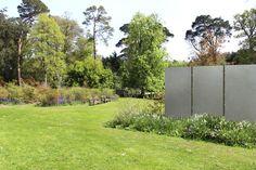 Betonstele Im Garten Als Raumtrenner