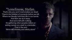 Tears*** Probably the most heartfelt monologue on TVD to date